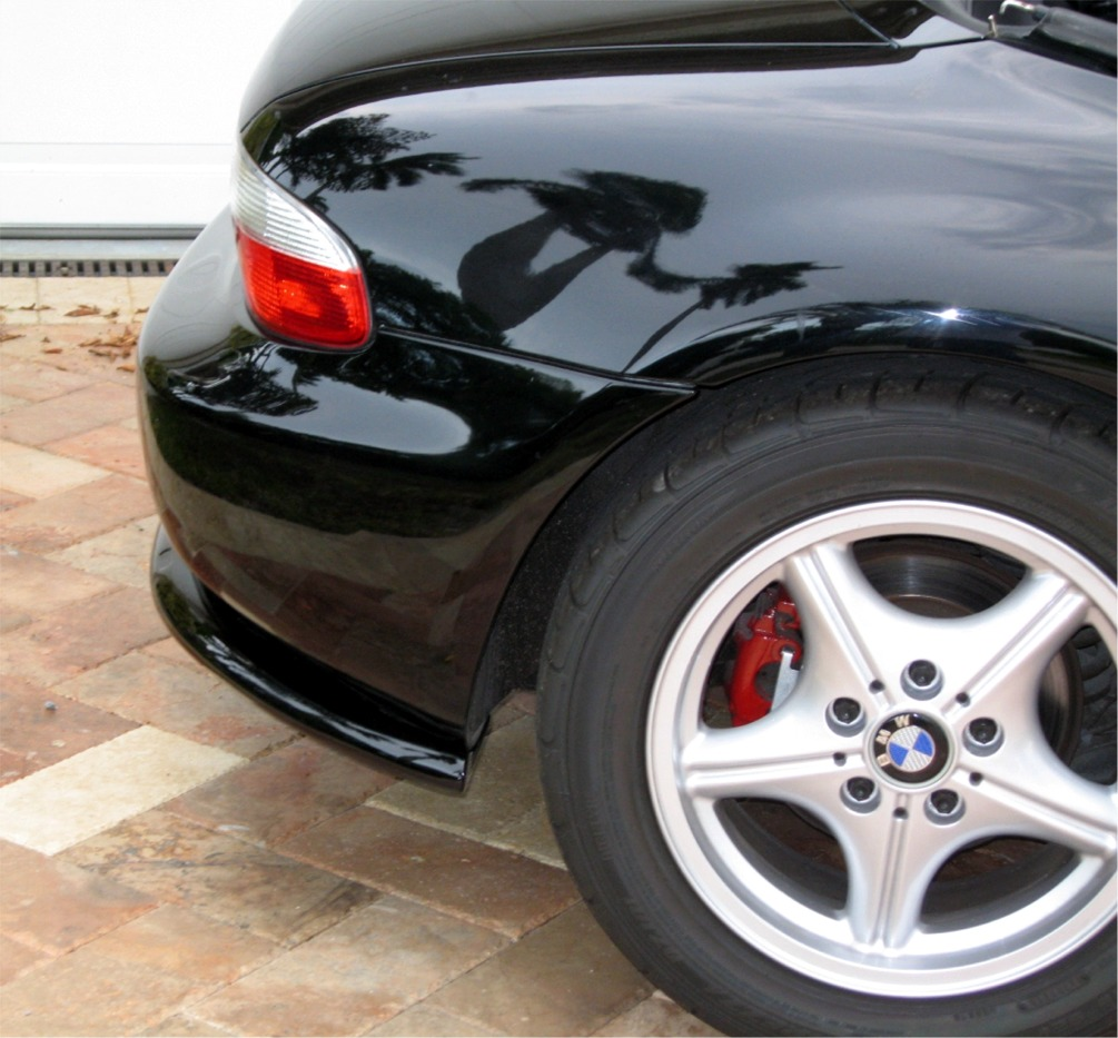 Bmw Z3 Colours: 1996-1999 BMW Z3 Roadster ACS Style 2pc Rear Bumper Skirts