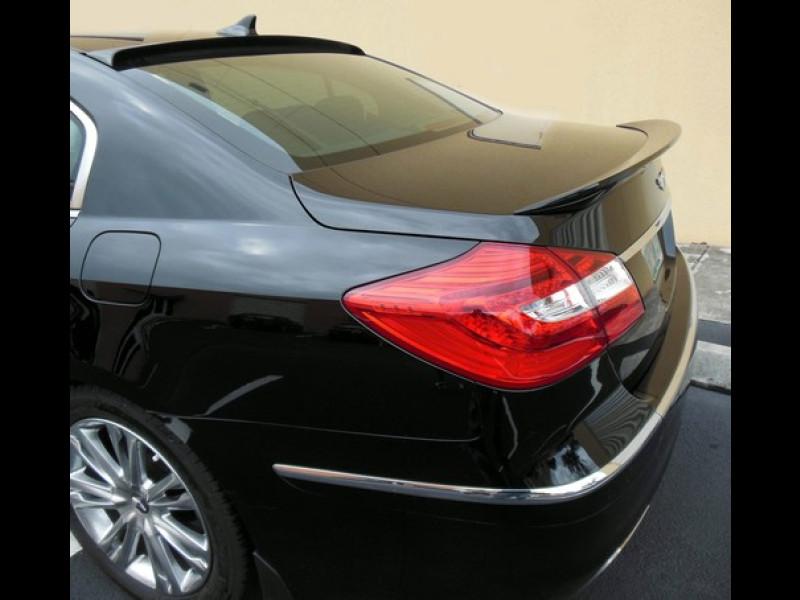 2009 2013 Hyundai Genesis Sedan Tuner Style Rear Trunk Lip