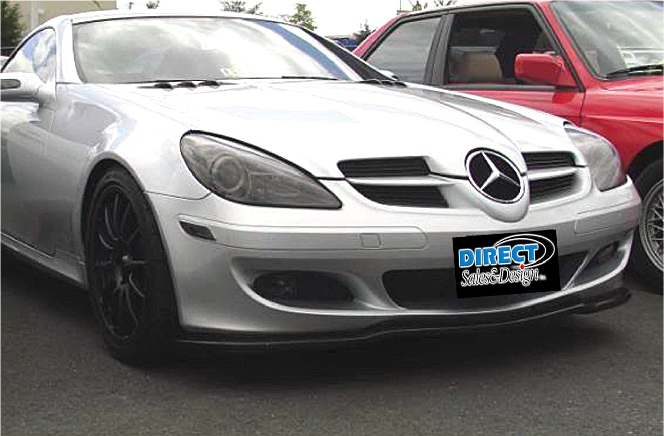 2005 2007 mercedes slk 350 euro style front lip spoiler. Black Bedroom Furniture Sets. Home Design Ideas