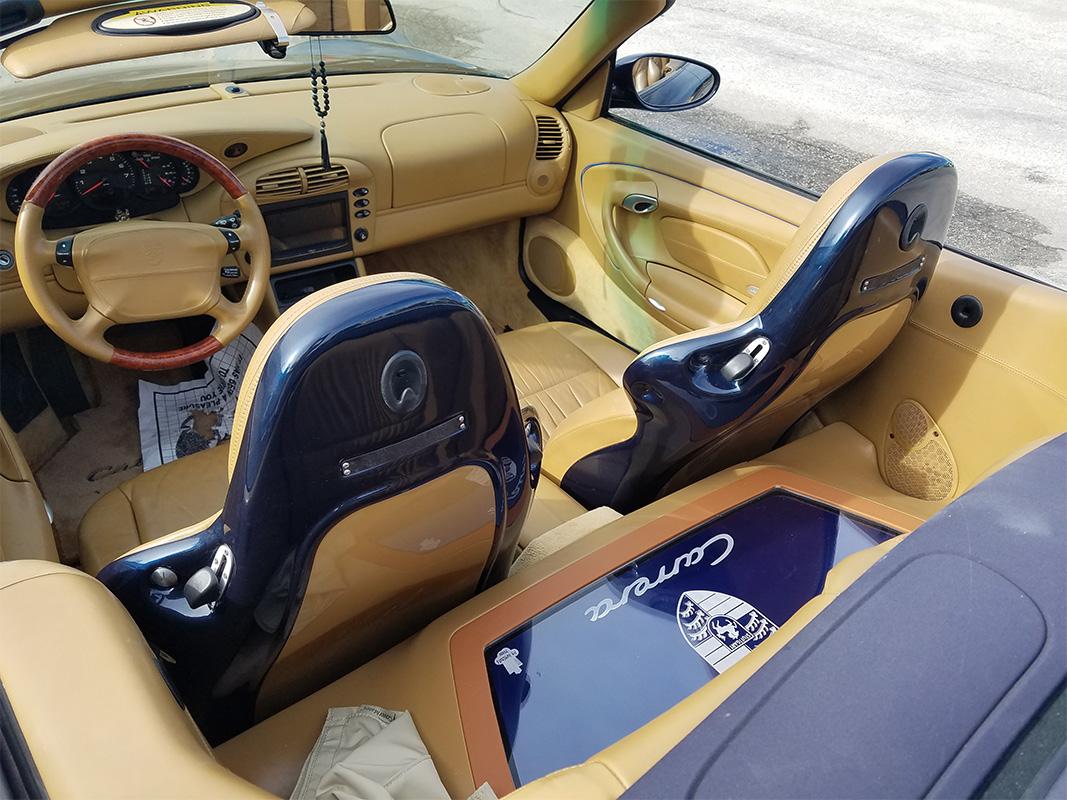 1997 2004 Porsche 911 996 Sport Seat Backs Quot Set Quot