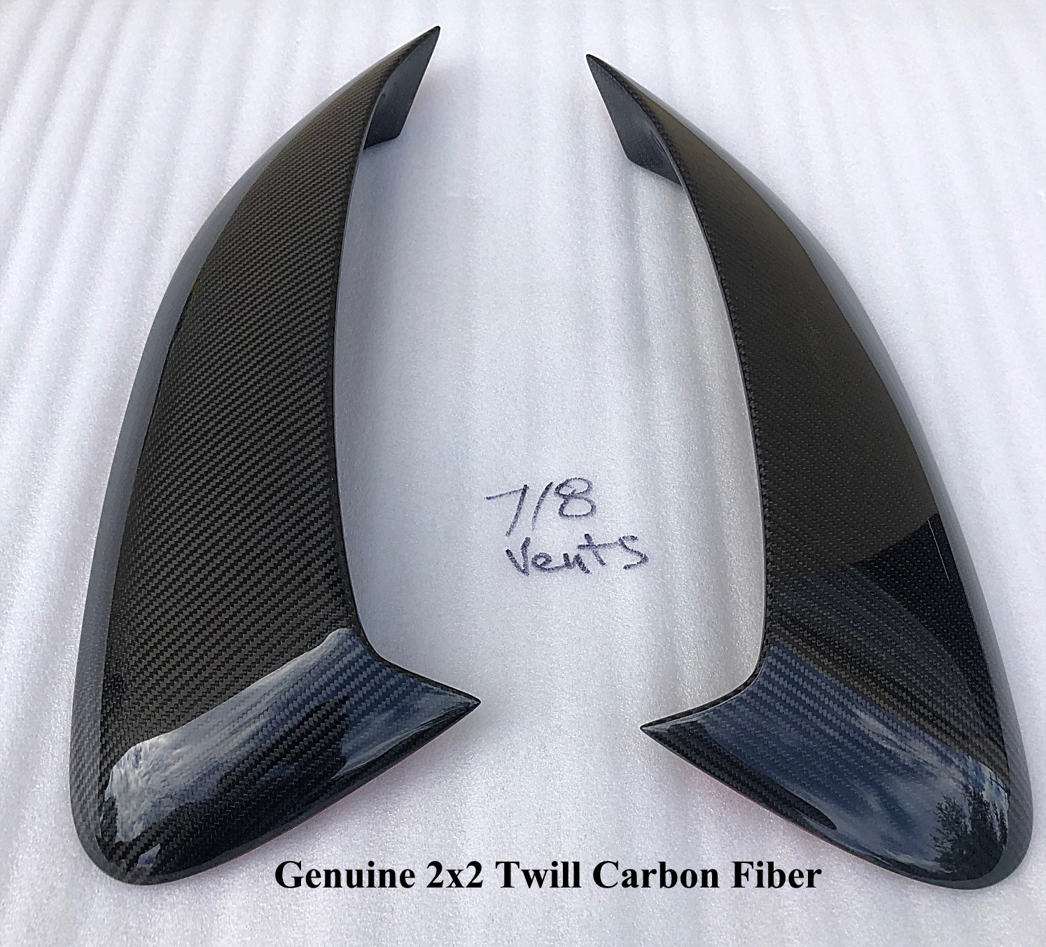 2017-2019 Porsche Boxster 718 GT4 Style Side Air Scoop Vents