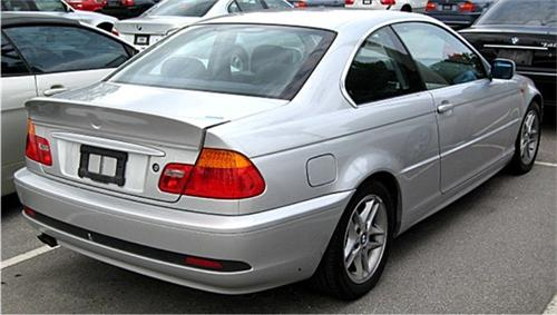 1999 2005 bmw 3 series coupe csl ducktail style rear spoiler. Black Bedroom Furniture Sets. Home Design Ideas