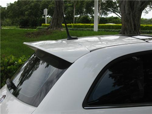 FIAT 500 FROM 2007 ABARTH LOOK REAR ROOF SPOILER NEW