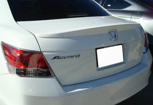 2008 2012 Honda Accord Sedan Factory Style Rear Lip Spoiler