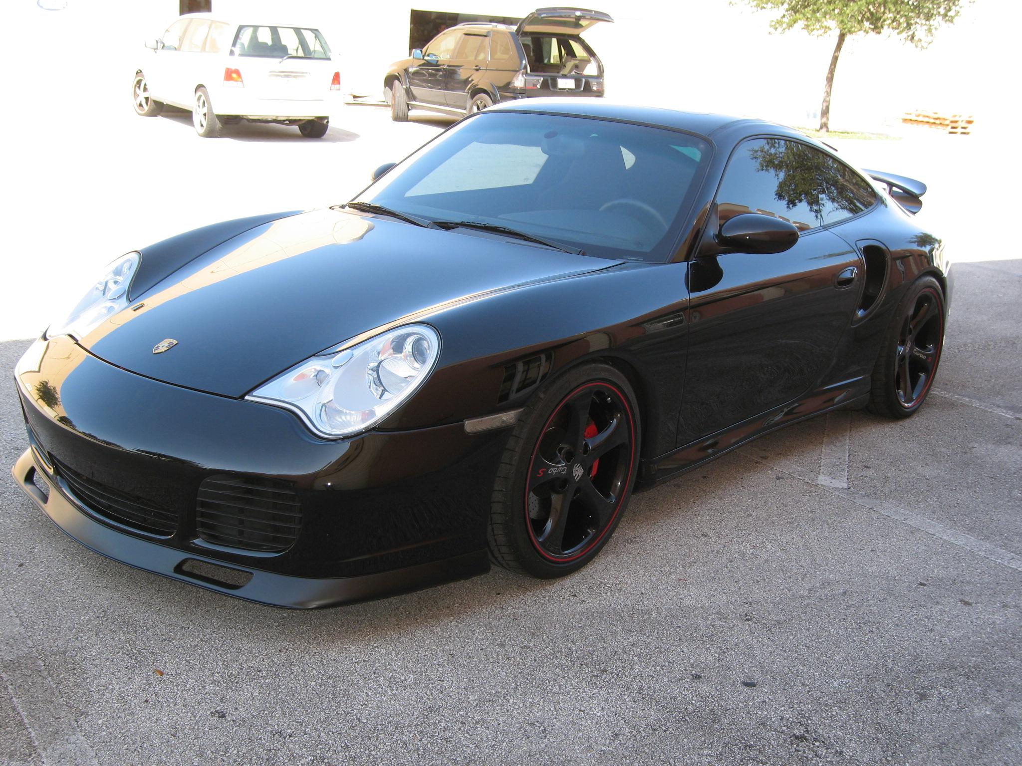 2001 2005 Porsche 911 996 Turbo C4s Aero Style Front