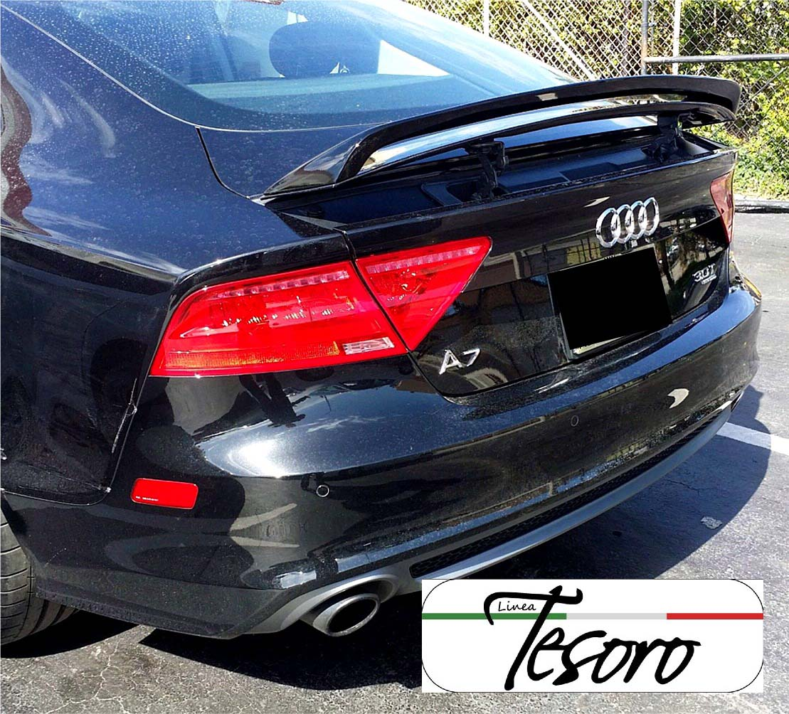 2017 Audi Rs 7 Camshaft: 2010-2017 AUDI A7 / S7 / RS Tesoro Style Rear Trunk Wing