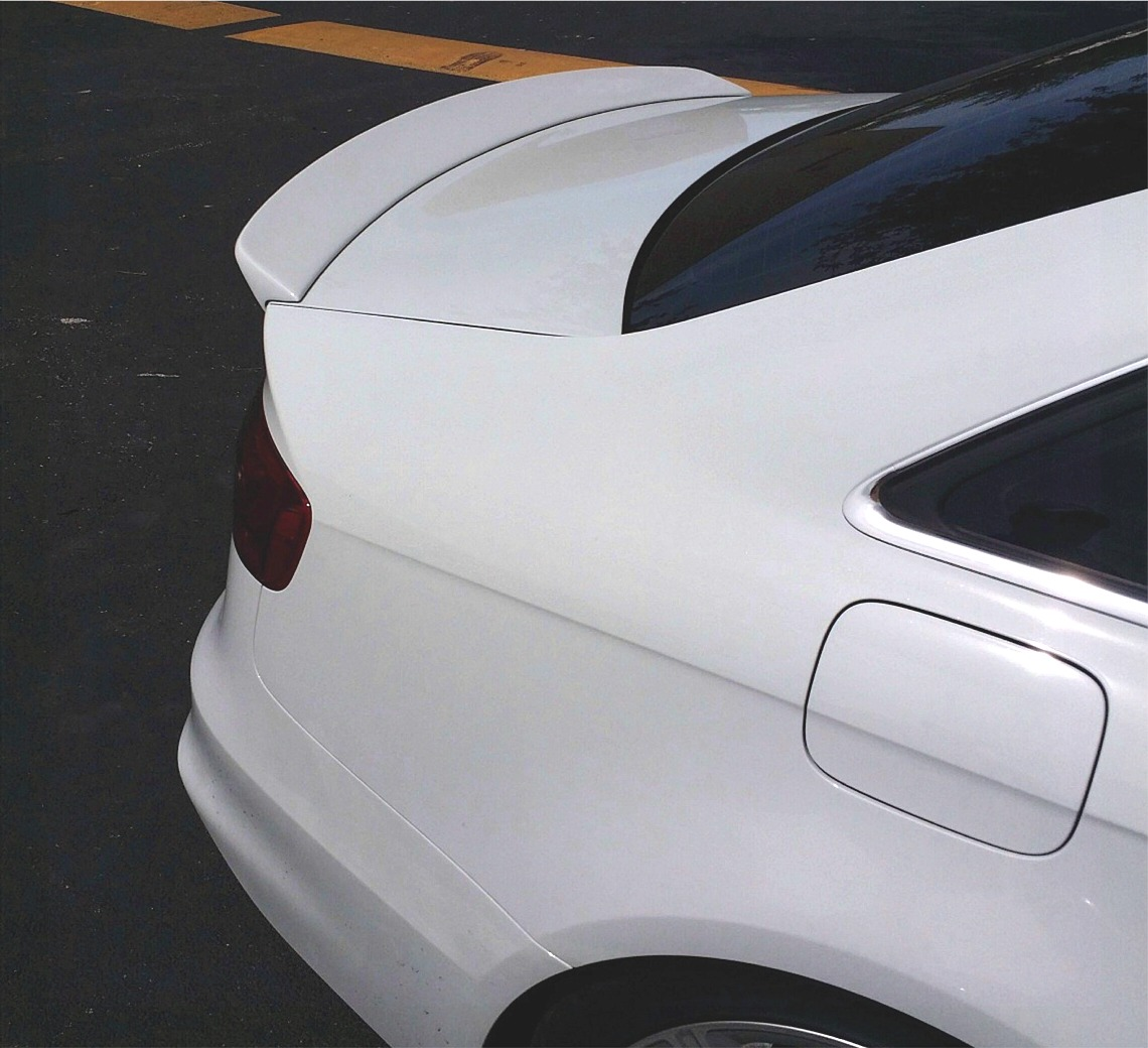 Audi 2015 S4: 2009-2015 Audi A4 S4 Sedan Euro Style Rear Lip Spoiler