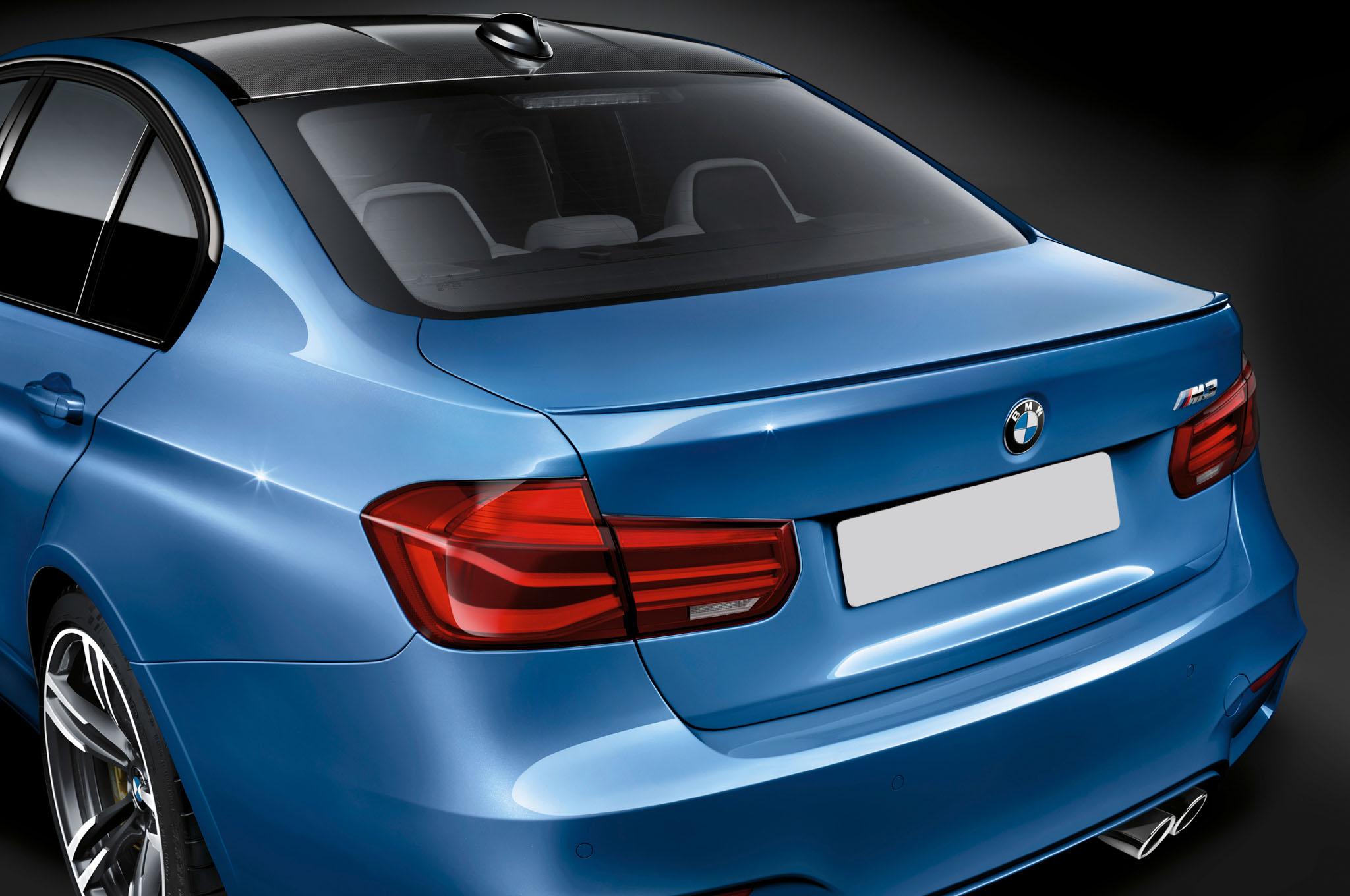 2012-2017 BMW 3-Series Sedan M3 Style Rear Lip Spoiler