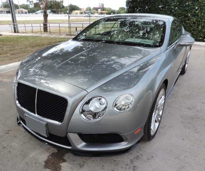 2012 2015 Bentley Continental Gtc Factory Style Front Lip