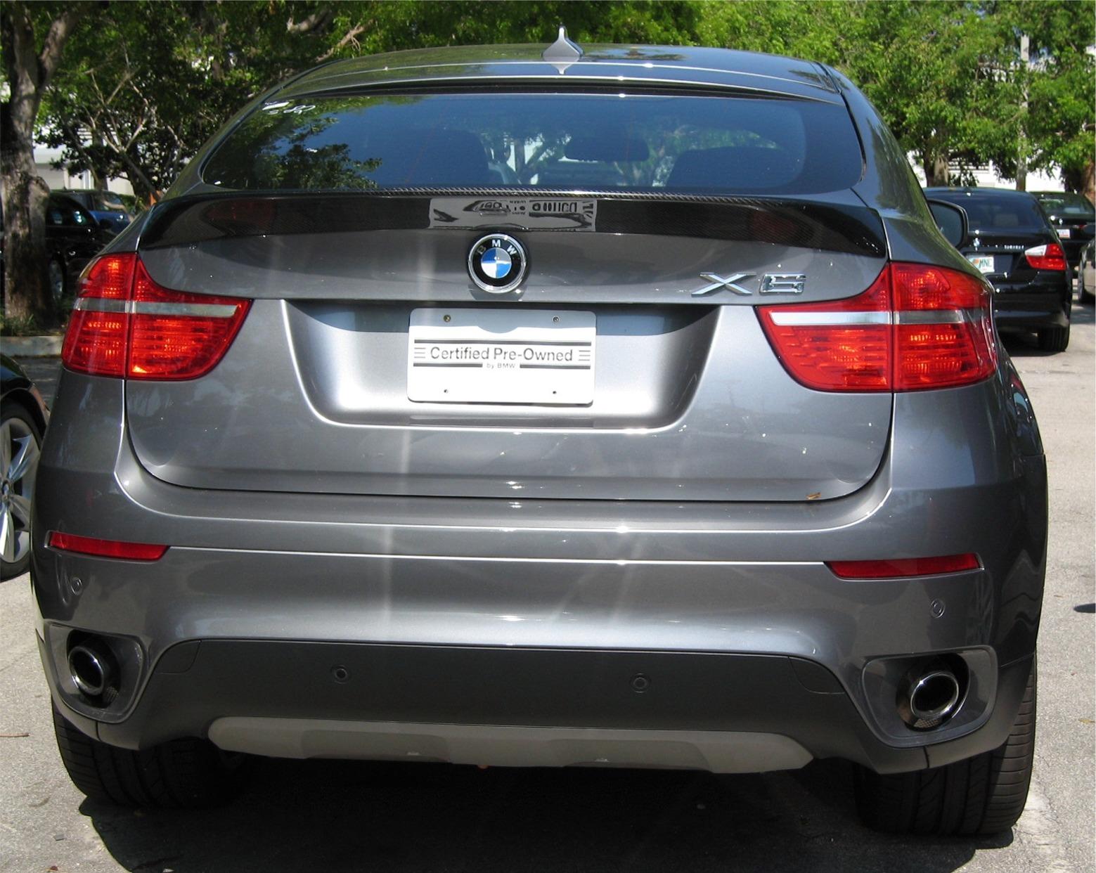 20082013 BMW X6 ACS Style Rear Lip Spoiler