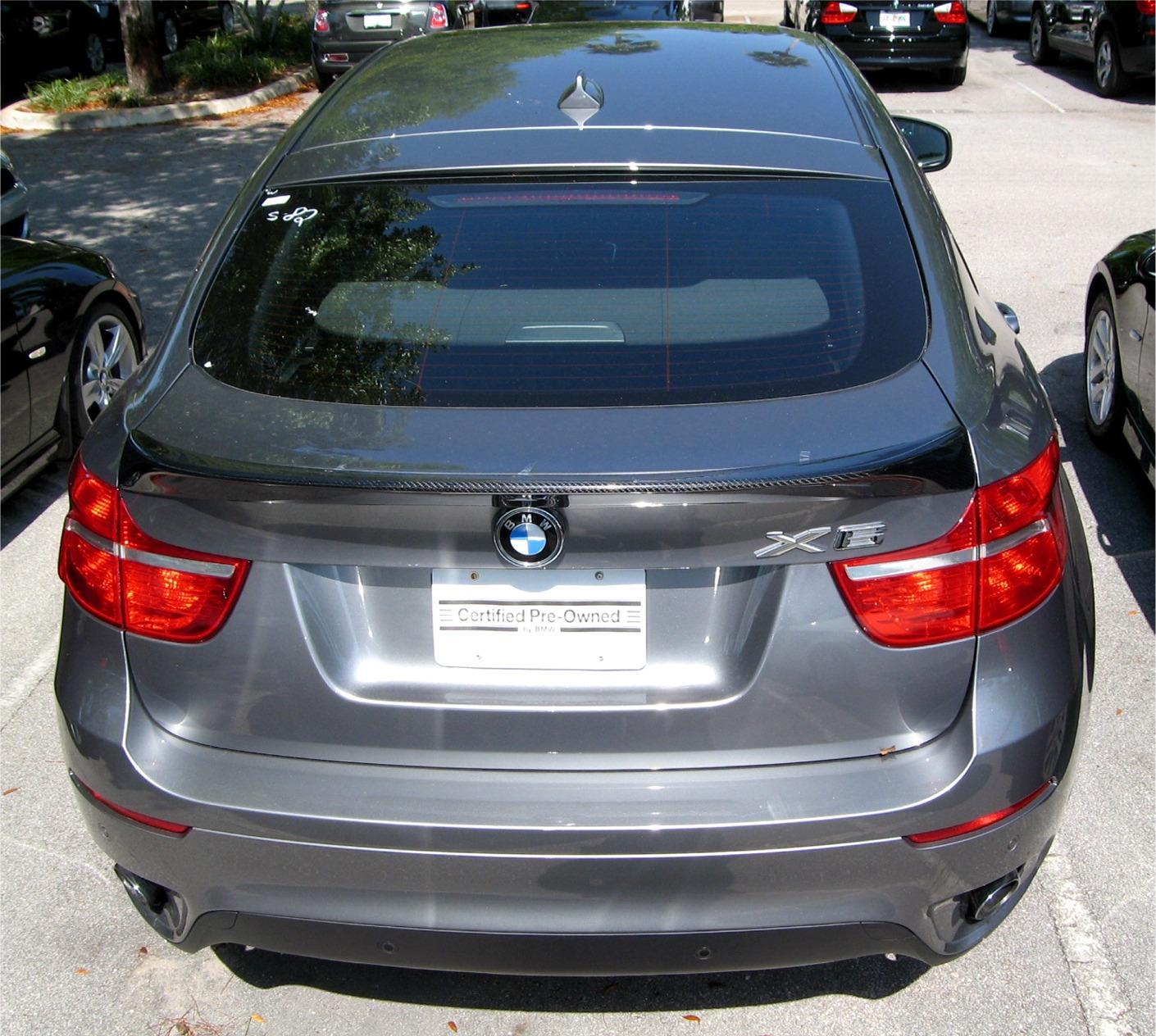 Bmw X6 Video Review: 2008-2013 BMW X6 ACS Style Rear Lip Spoiler