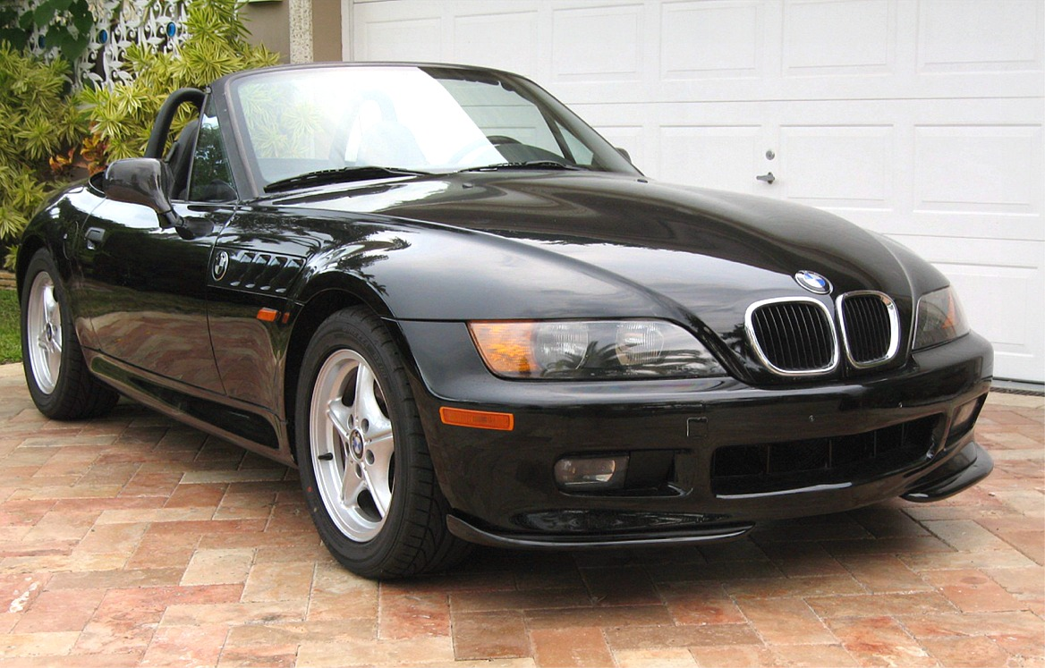 1996 1999 Bmw Z3 Roadster Acs Style 2pc Front Bumper Lip Spoilers
