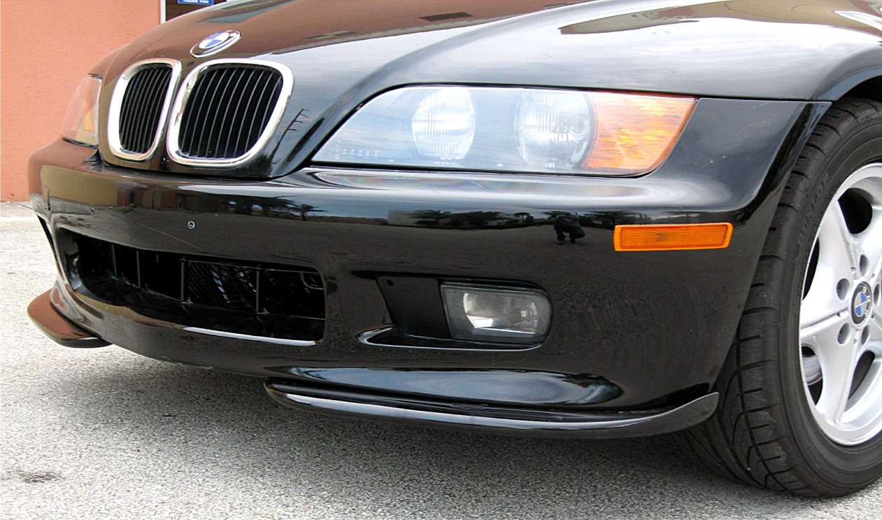 1996 1999 Bmw Z3 Roadster Acs Style 2pc Front Bumper Lip