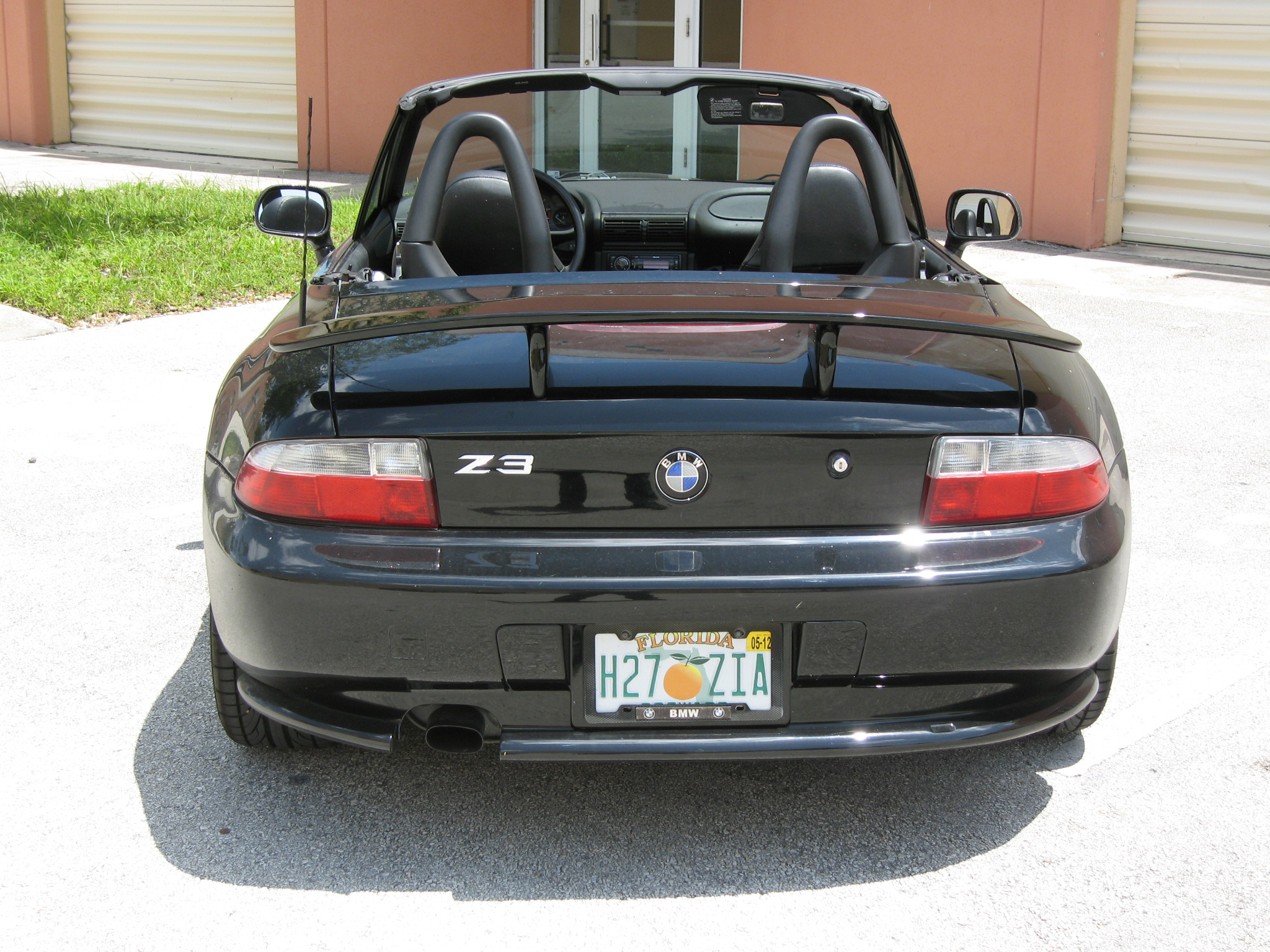 1996 2002 Bmw Z3 Euro Style 2 Post Rear Wing Spoiler