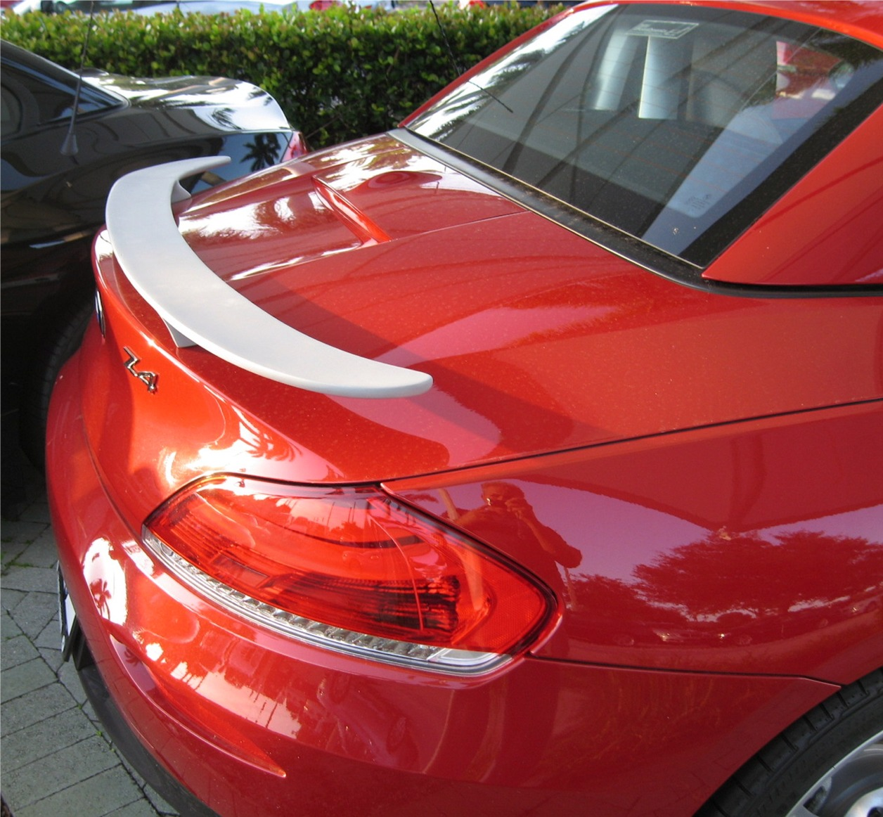 Bmw Z4 2009: 2009+ BMW Z4 Euro Style 2 Post Rear Wing Spoiler