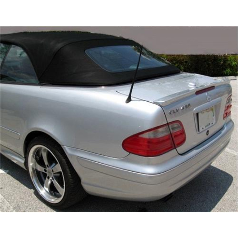 Rear Trunk Spoiler for Mercedes W208 A Type CLK Convertible 1997-2003