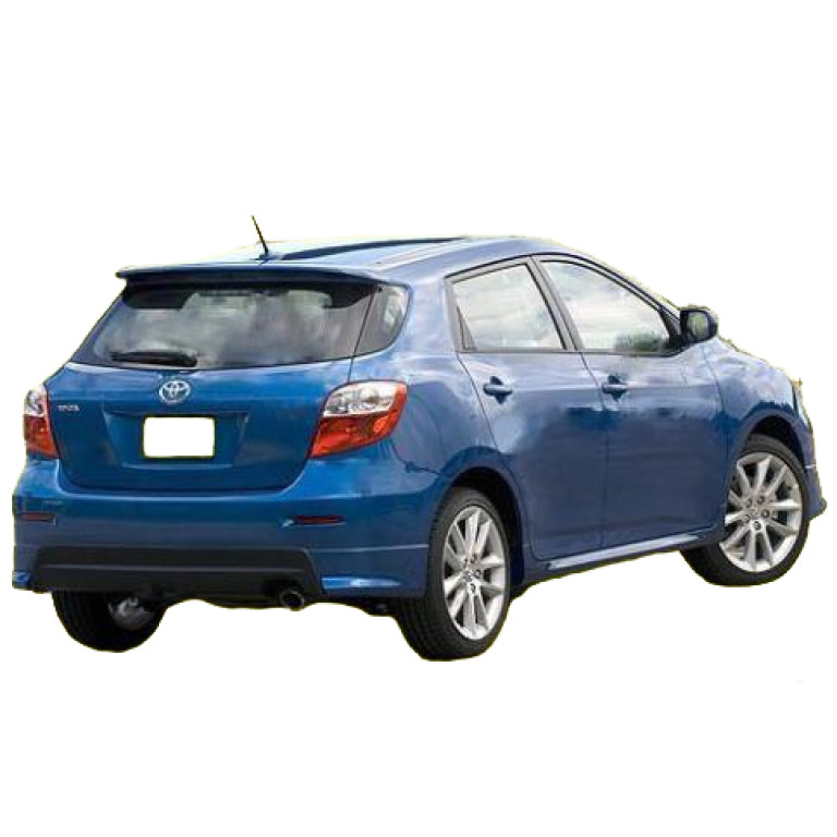 2009 2013 Toyota Matrix Hb Factory Style Roof Spoiler