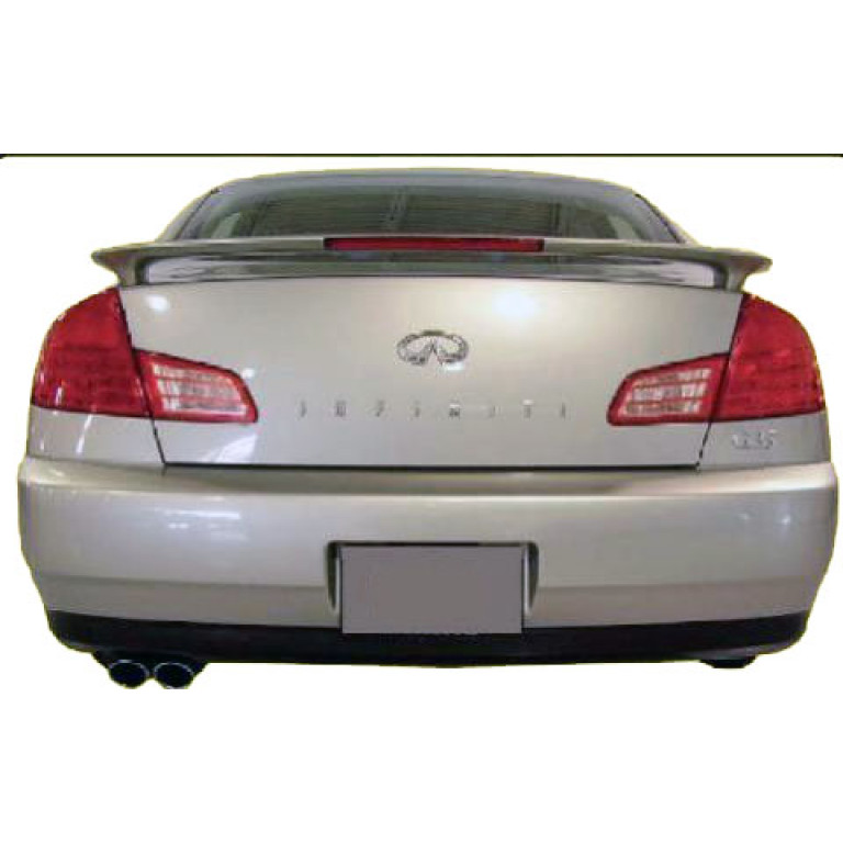 2003 2006 Infiniti G35 Sedan Factory Style Rear Wing Spoiler W Light
