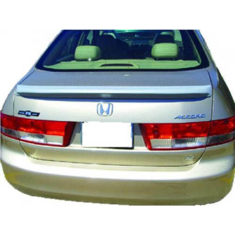 PAINTED TO MATCH REAR SPOILER FOR A HONDA ACCORD 2 DR FACTORY STYLE 2003-2005