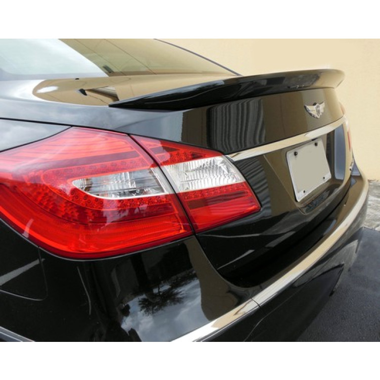 PAINTED TO MATCH SPOILER FOR A HYUNDAI GENESIS 2-DOOR COUPE FACTORY 2010-2016