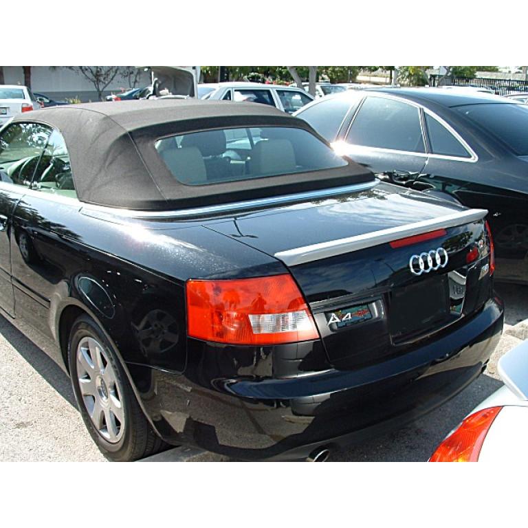 2003 2008 Audi A4 Convertible Euro Style Rear Lip Spoiler