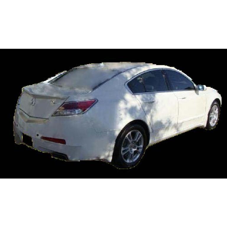 Acura TL Factory Style Rear Lip Spoiler - Acura tl lip