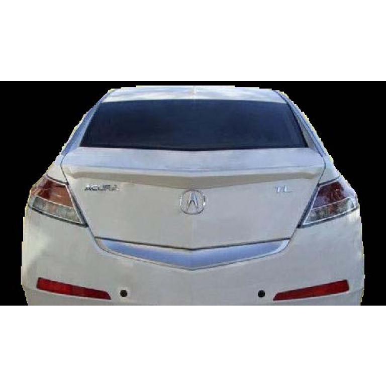 Acura TL Factory Style Rear Lip Spoiler - Acura tl front lip