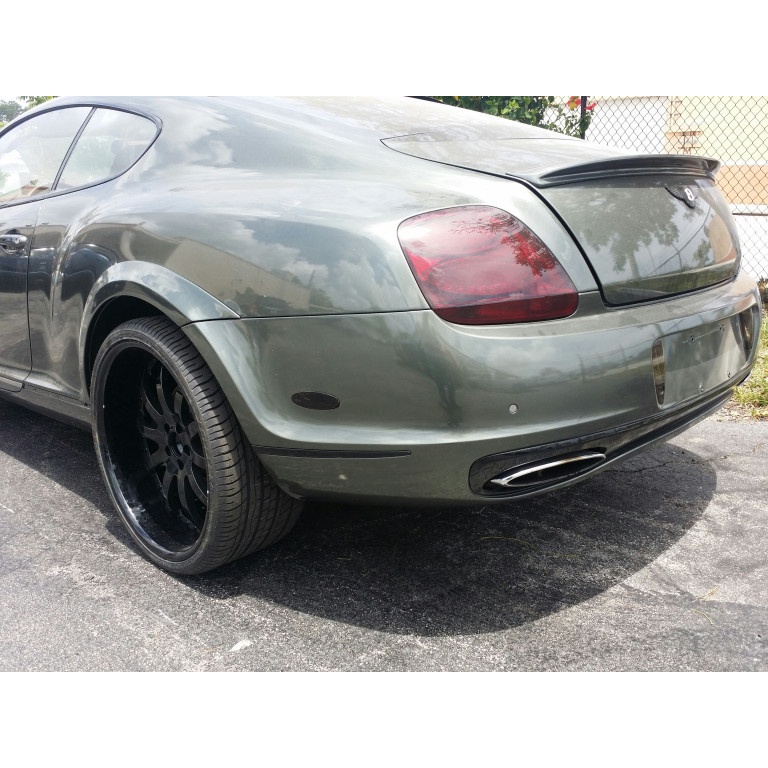 2005 2011 Bentley Continental Gt Ss Style Rear Bumper Cover Wflares