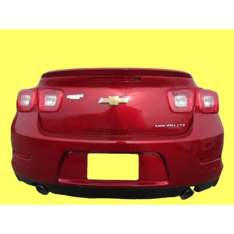 2013 2014 2015 CHEVY MALIBU Spoiler Wing Euro Factory Style Trunk Lip UNPAINTED
