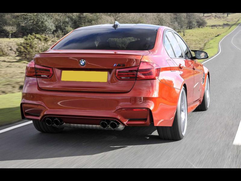 2012 2017 BMW 3 Series Sedan M3 Style Rear Lip Spoiler