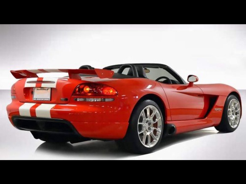 Car Factory Direct >> 2003-2010 Dodge Viper SRT Style 5pc Rear Wing Spoiler