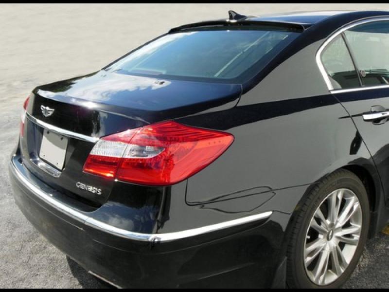2009 2013 Hyundai Genesis Sedan Tuner Style Rear Roof