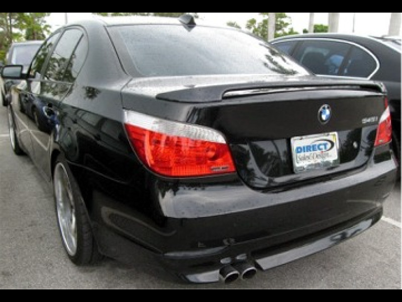 2004 2009 bmw 5 series factory style rear wing spoiler. Black Bedroom Furniture Sets. Home Design Ideas