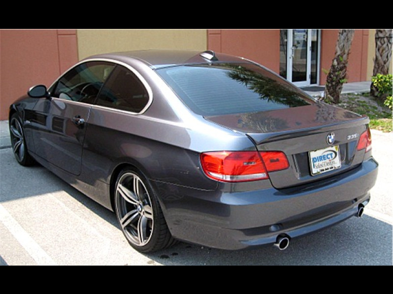 2007 2012 bmw 3 series coupe euro style rear lip spoiler. Black Bedroom Furniture Sets. Home Design Ideas