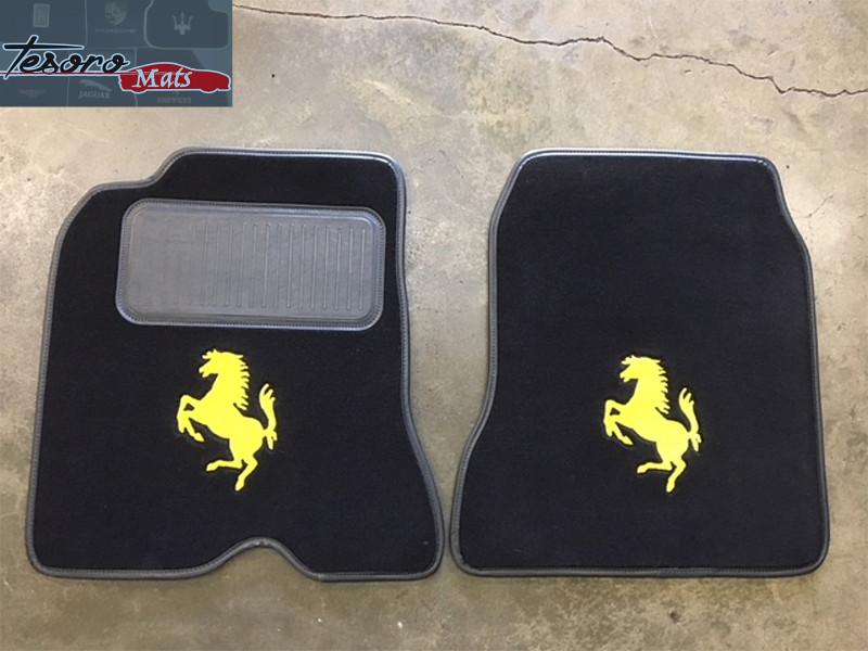 Ferrari California T >> 2014-2016 Ferrari California T Custom German Velour Floor Mats (Set)