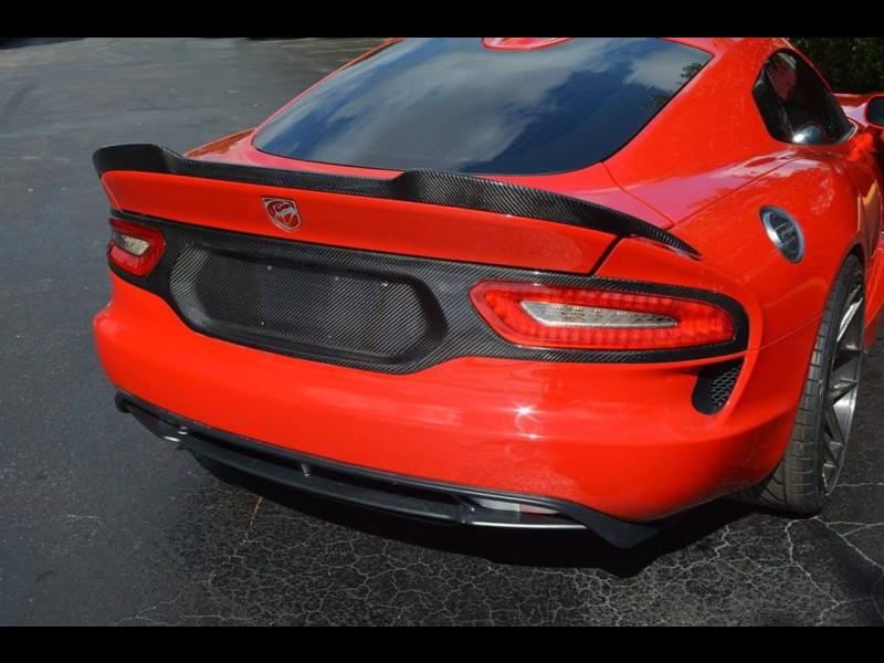 APR Performance AS-107036: Dodge Viper Wing Gtc-500 Viper ... |Viper With Spoiler
