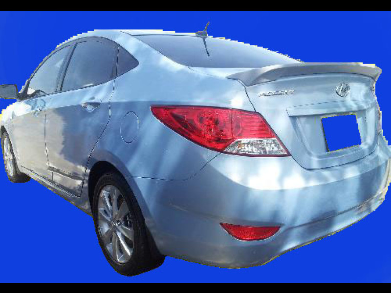 2012 2016 Hyundai Accent Factory Style Rear Lip Flush