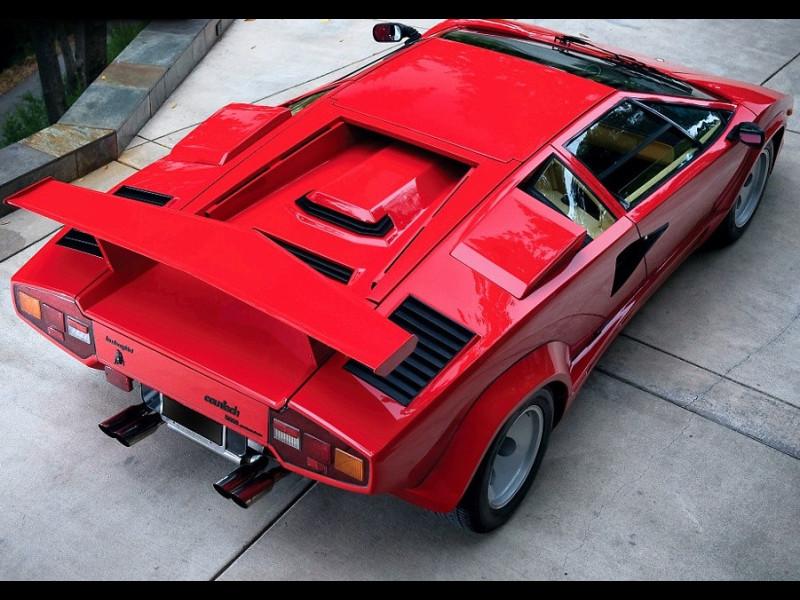1986 1990 Lamborghini Countach Medium Factory Style Rear