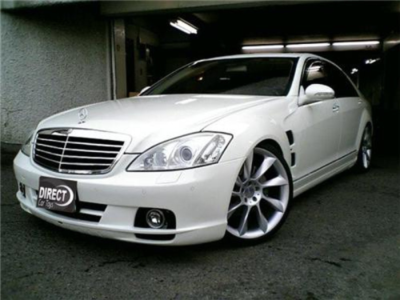 2007 2012 mercedes s class l style complete body kit for Mercedes benz body styles
