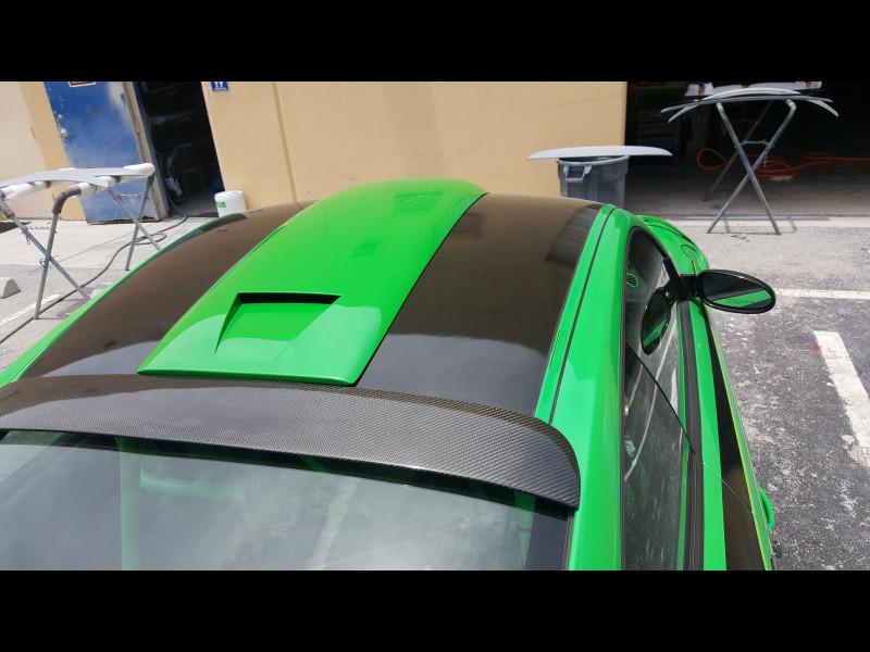 2005 2012 Porsche 997 Coupe Tesoro Roof Scoop