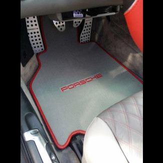 1998-2004 Porsche 911 / 996 2-Piece Custom German Velour Front Floor Mats