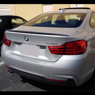 2014-2017 BMW 4 Series Coupe OEM Style Rear Lip Spoiler