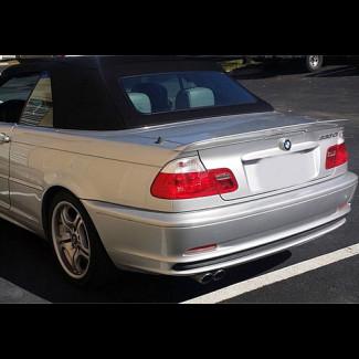 1999-2006 BMW 3-Series Convertible Tesoro Style Rear Lip Spoiler
