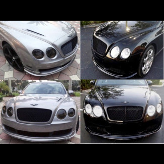2005-2015 Bentley Continental GT GTC Flying Spur- 2pc Hood Vents