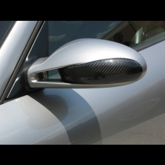 2005-2008 Porsche 911 / 997 Carbon Fiber Mirror Cover Inserts