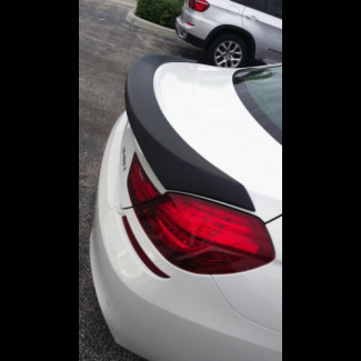 2012-2017 BMW 6-Series Gran Coupe H Style Rear Lip Spoiler
