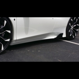 2010-2015 Ferrari 458 Italia Speciale Style Side Skirts with Fins