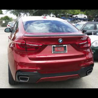 2015-2017 BMW X6 Tuner Style Rear Lip Spoiler