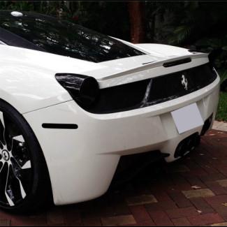 2010-2015 Ferrari 458 Italia Linea Tesoro Rear Lip Spoiler