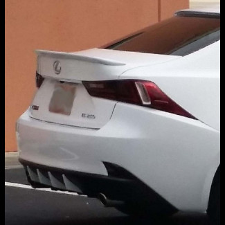 2013+ Lexus IS Sedan Sport Style Rear Lip Spoiler